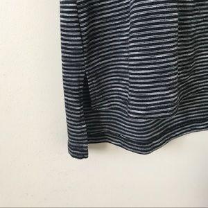 Mossimo Supply Co. Dresses - Mossimo | Black + Gray Striped Short Sleeve Dress